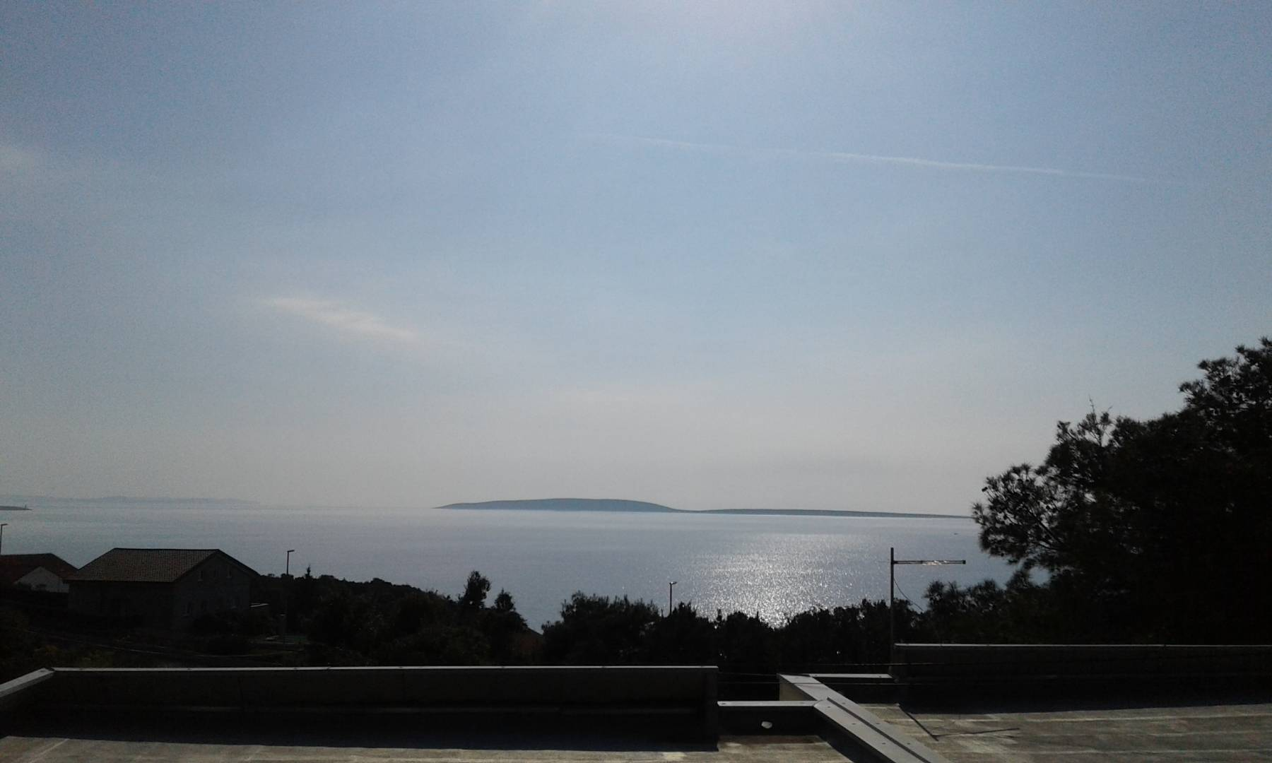 Der Blick von der Terrasse