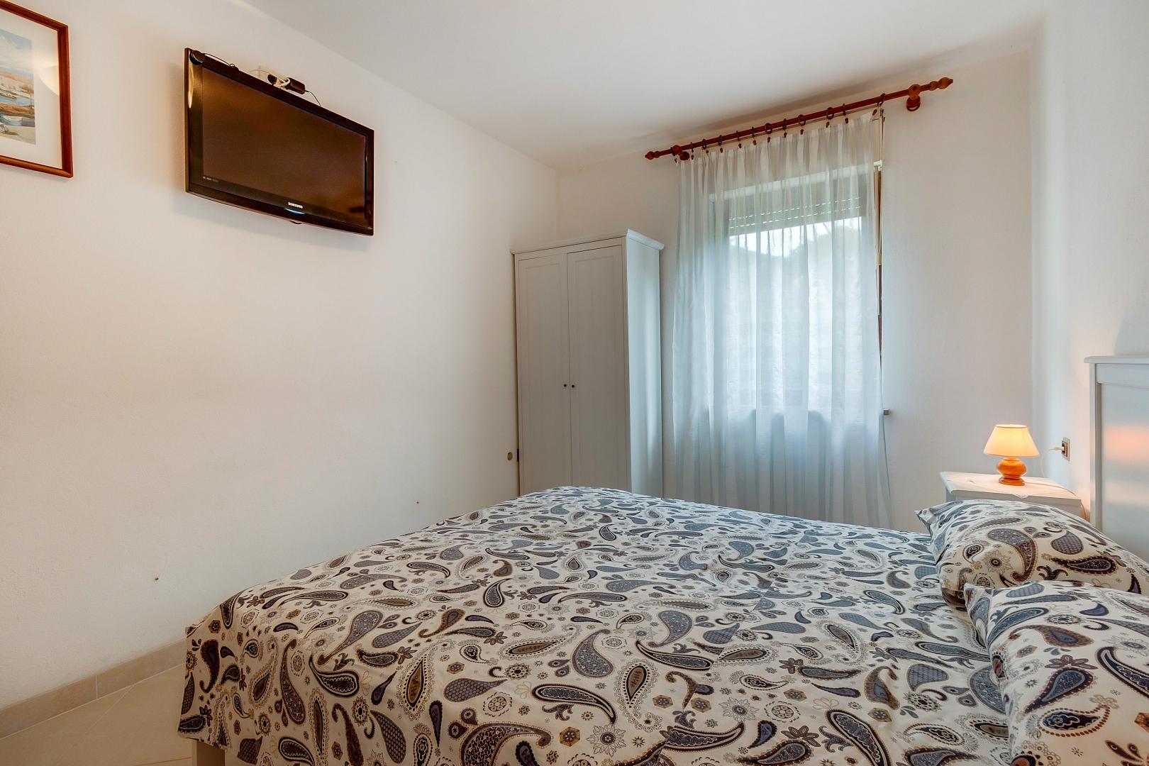 Zimmer mit einem Doppelbett