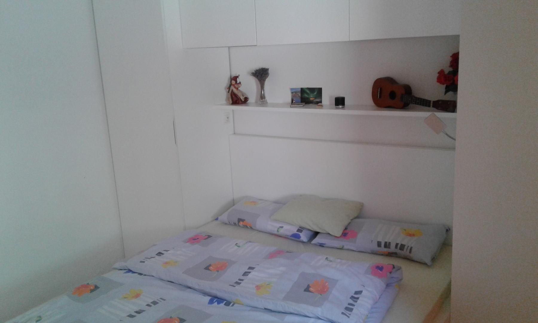 Das zweite Zimmer mit Doppelbett