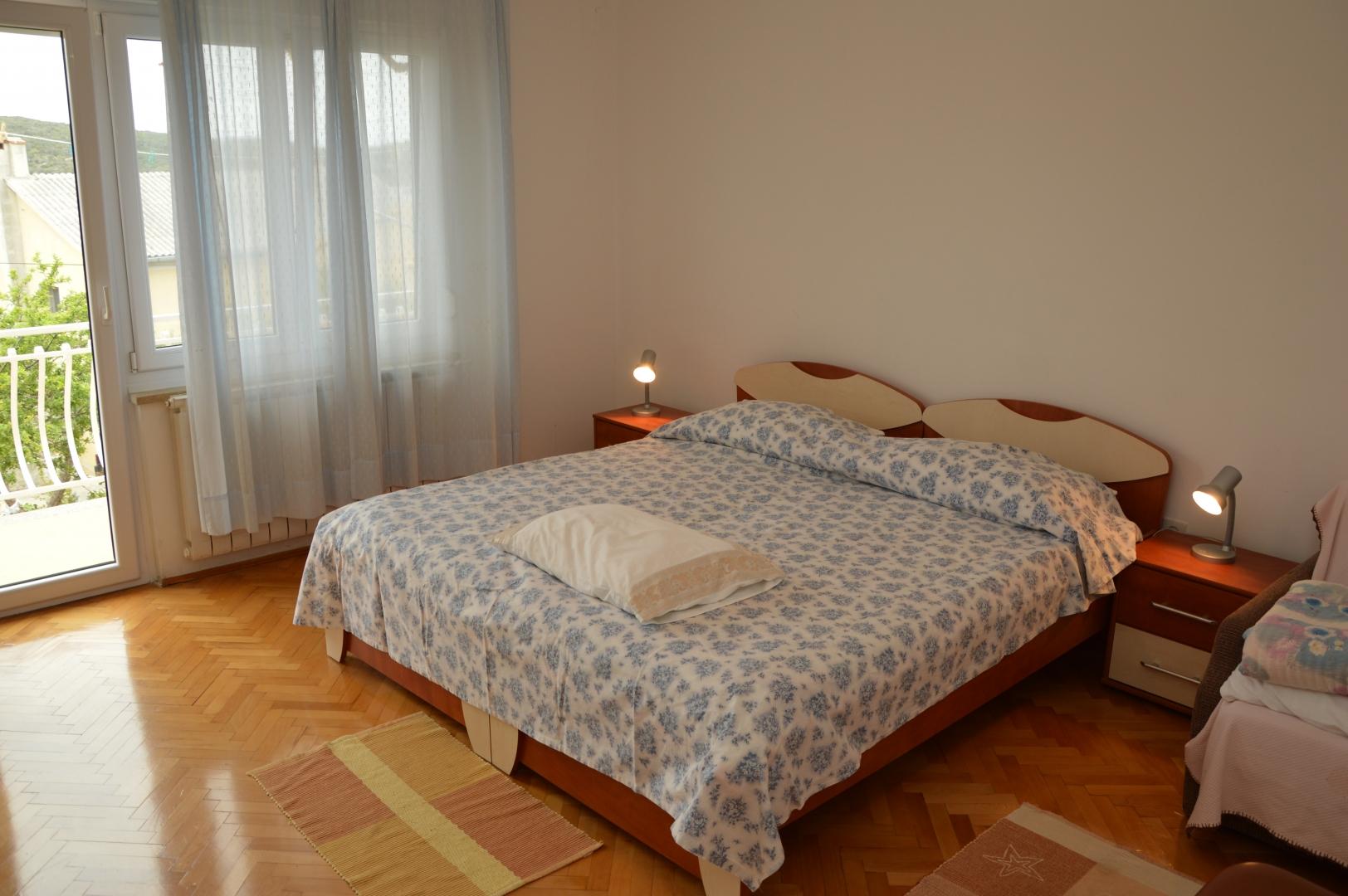 Das dritte Zimmer mit Doppelbett