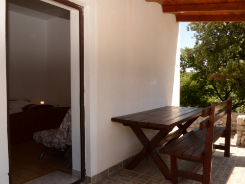 Zimmer mit eigenem Eingang und Terrasse