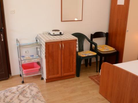 Kleiner Kochbereich im Zimmer