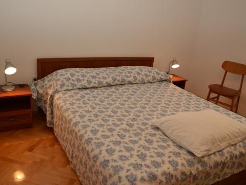 Das Zweitezimmer mit Doppelbett