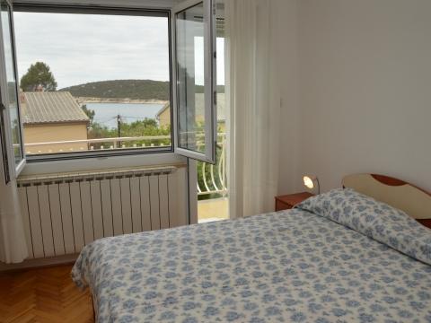 Das vierte Zimmer mit Doppelbett